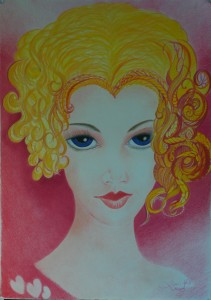 03_face_420x585mm_color pencil on paper without frame_RS